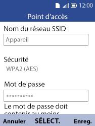 Alcatel 3088X - Internet et connexion - Partager votre connexion en Wi-Fi - Étape 6