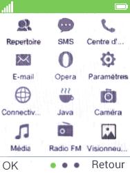 Mobiwire Doli - Contact, Appels, SMS/MMS - Envoyer un SMS - Étape 3