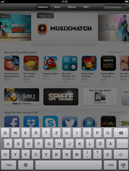 Apple iPad Retina - Apps - Installieren von Apps - Schritt 5