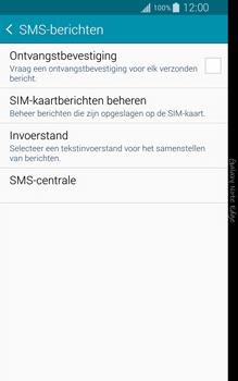 Samsung Galaxy Note Edge - sms - handmatig instellen - stap 7