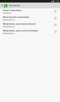 Samsung T211 Galaxy Tab 3 7-0 - Anrufe - Rufumleitungen setzen und löschen - Schritt 9