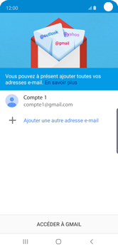 Samsung Galaxy S10e - E-mail - 032a. Email wizard - Gmail - Étape 13