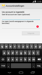 Motorola Moto G (1st Gen) (Kitkat) - E-mail - handmatig instellen (yahoo) - Stap 8