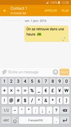 Samsung Galaxy A3 - A5 (2016) - Contact, Appels, SMS/MMS - Envoyer un SMS - Étape 12