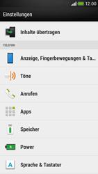 HTC Desire 601 - Anrufe - Rufumleitungen setzen und löschen - 4 / 9