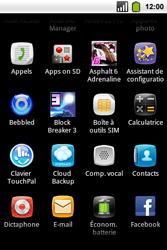 Alcatel OT-991 Smart - E-mail - Envoi d