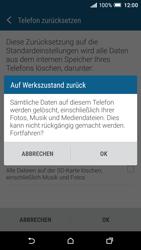 HTC One A9 - Fehlerbehebung - Handy zurücksetzen - 10 / 11