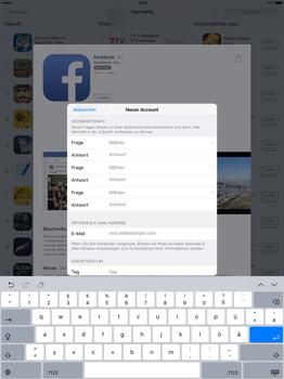Apple iPad Pro 12.9 inch - Apps - Konto anlegen und einrichten - 23 / 35