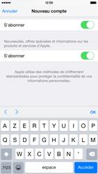 Apple iPhone 6 - Applications - Créer un compte - Étape 17