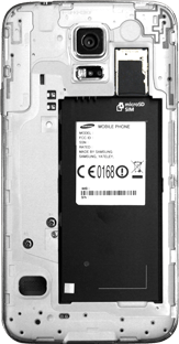Samsung G903F Galaxy S5 Neo - SIM-Karte - Einlegen - Schritt 4
