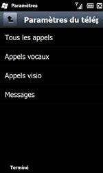Samsung B7610 Omnia Qwerty - Messagerie vocale - configuration manuelle - Étape 6