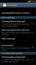 Samsung I9300 Galaxy S III - SMS - handmatig instellen - Stap 4