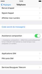 Apple iPhone 7 - Sécuriser votre mobile - Personnaliser le code PIN de votre carte SIM - Étape 4