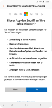 Samsung Galaxy S9 Plus - E-Mail - Konto einrichten (outlook) - 8 / 12