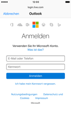 Apple iPhone 6 iOS 10 - E-Mail - Konto einrichten (outlook) - Schritt 6