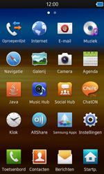 Samsung S8600 Wave 3 - e-mail - hoe te versturen - stap 3