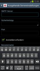 Samsung Galaxy S III LTE - E-Mail - Manuelle Konfiguration - Schritt 11