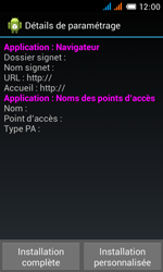 Alcatel OT-4033X Pop C3 - Internet - configuration automatique - Étape 7
