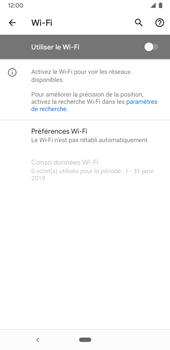 Google Pixel 3a - Internet et connexion - Accéder au réseau Wi-Fi - Étape 6