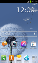 Samsung S7560 Galaxy Trend - Internet - Activar o desactivar la conexión de datos - Paso 1