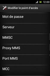 Sony C1505 Xperia E - MMS - Configuration manuelle - Étape 11