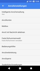 Sony Xperia XZ - Anrufe - Rufumleitungen setzen und löschen - 7 / 12