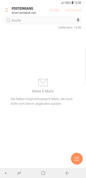 Samsung Galaxy S8 Plus - Android Oreo - E-Mail - Konto einrichten (outlook) - Schritt 4