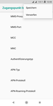 Sony Xperia L3 - Internet - Manuelle Konfiguration - Schritt 20