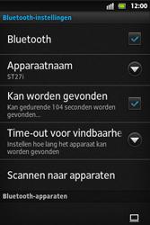 Sony ST27i Xperia Go - bluetooth - aanzetten - stap 8