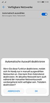 Huawei P20 Pro - Netzwerk - Manuelle Netzwerkwahl - Schritt 7