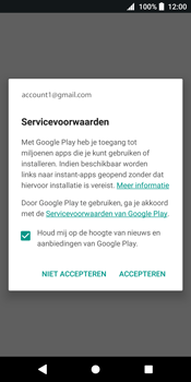 Sony Xperia XZ2 - Applicaties - Account instellen - Stap 18