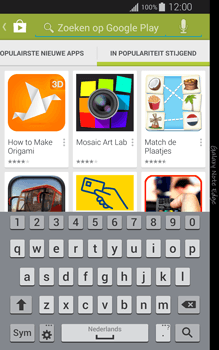 Samsung Galaxy Note Edge - apps - app store gebruiken - stap 14