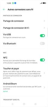 Oppo Find X2 Neo - Internet et connexion - Utiliser le mode modem par USB - Étape 8