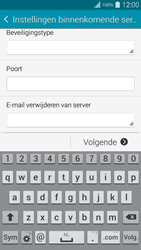 Samsung G901F Galaxy S5 4G+ - E-mail - Handmatig instellen - Stap 12