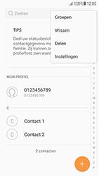 Samsung Galaxy A5 2016 (SM-A510F) - Android Nougat - Contacten en data - Contacten kopiëren van toestel naar SIM - Stap 5