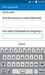 Samsung G355 Galaxy Core 2 - E-mail - Manual configuration - Step 19