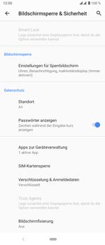 Sony Xperia 5 - Startanleitung - So aktivieren Sie eine SIM-PIN - Schritt 6
