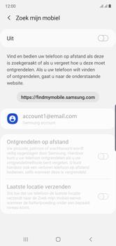Samsung galaxy-note-10-dual-sim-sm-n970f - Beveiliging en ouderlijk toezicht - Zoek mijn mobiel inschakelen - Stap 6