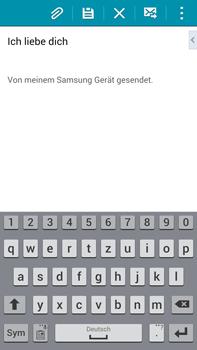 Samsung Galaxy Note 4 - E-Mail - E-Mail versenden - 0 / 0