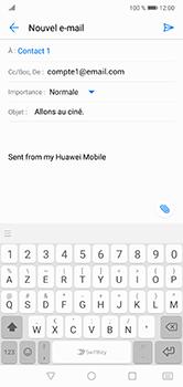 Huawei P20 lite - E-mails - Envoyer un e-mail - Étape 9