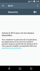Sony Sony Xperia E5 (F3313) - Wi-Fi - Accéder au réseau Wi-Fi - Étape 5