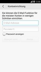 Huawei Ascend Y550 - E-Mail - Konto einrichten - Schritt 6