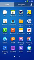Samsung Galaxy S 4 Active - Startanleitung - Installieren von Widgets und Apps auf der Startseite - Schritt 6