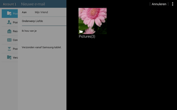 Samsung T535 Galaxy Tab 4 10-1 - E-mail - Bericht met attachment versturen - Stap 14
