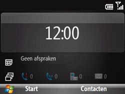 HTC S521 Snap - Internet - Handmatig instellen - Stap 1