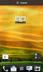 HTC Desire X - Getting started - Installing widgets and applications on your start screen - Step 5