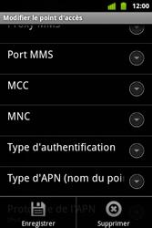 Alcatel OT-983 - MMS - Configuration manuelle - Étape 15