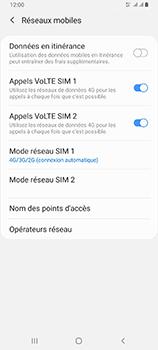 Samsung Galaxy A80 - Réseau - Comment activer une connexion au réseau 4G - Étape 8