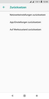 Sony Xperia L3 - Fehlerbehebung - Handy zurücksetzen - Schritt 8