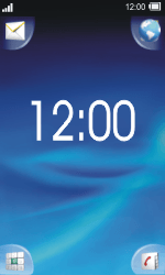 Sony TXT Pro - Internet - Internetten - Stap 1